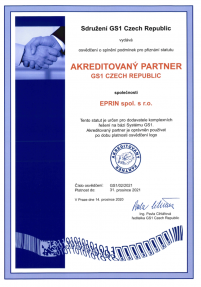 Akreditovany partner GS1 2017