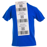Textilní polyesterová etiketa