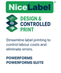 Software NiceLabel PowerForms
