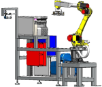 Robotic labelling workplace ARP