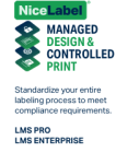 Profesionální software NiceLabel LMS Enterprise