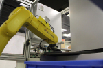 Labeling robotic workplace ERP100
