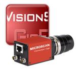 Vision system GigE cameras